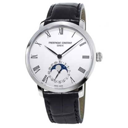 Picture of Frederique Constant Slimline Moonphase Manufacture Watch