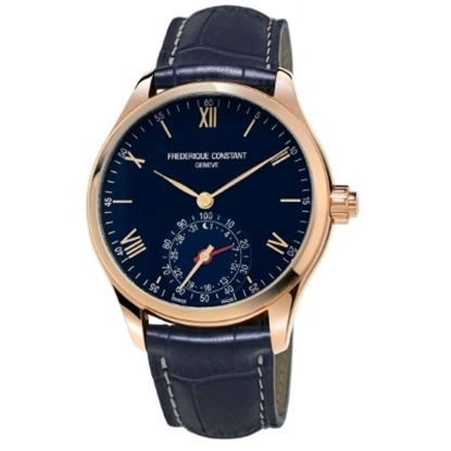 Picture of Frederique Constant Smartwatch with Navy Strap & Dial