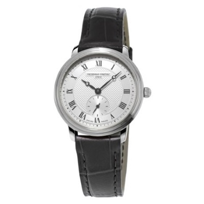 Picture of Frederique Constant Ladies' Slimline Watch with Silver Dial