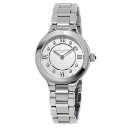 Picture of Frederique Constant Ladies Delight Steel Watch w/ Diamond Dial