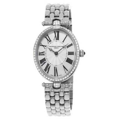 Picture of Frederique Constant Ladies Art Deco Watch w/ Diamond Oval Dial