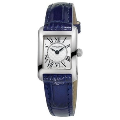Picture of Frederique Constant Ladies' Carree Watch w/ Blue Leather Strap