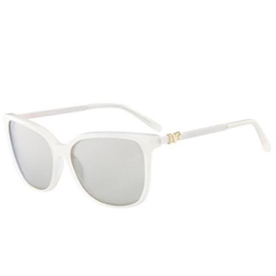 MileagePlus Merchandise Awards. DVF Joanna Square Sunglasses - Milky ...