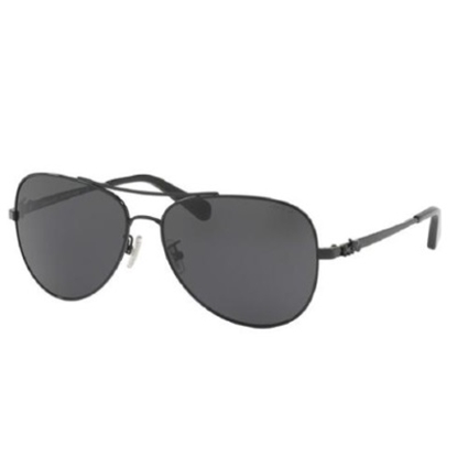 Picture of Coach Aviator Sunglasses - Gunmetal/Black Gradient Lens