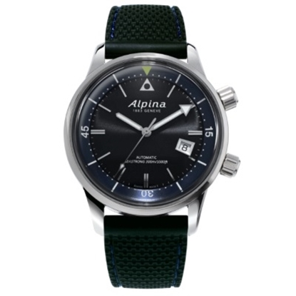 Picture of Alpina Seastrong Diver Heritage Watch with Grey Dial