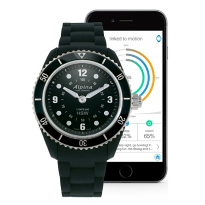 Picture of Alpina Ladies' Horological Smartwatch - Black