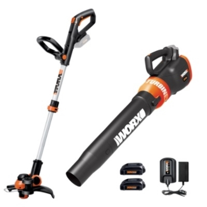 Picture of WORX 20V GT 3.0 Trimmer & TURBINE Blower Combo Kit