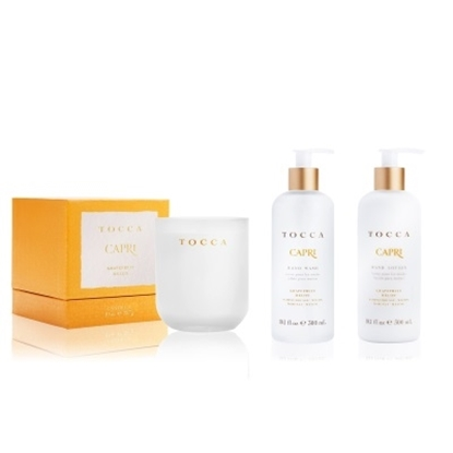 Picture of TOCCA Lotion, Soap and Candle Set - Capri