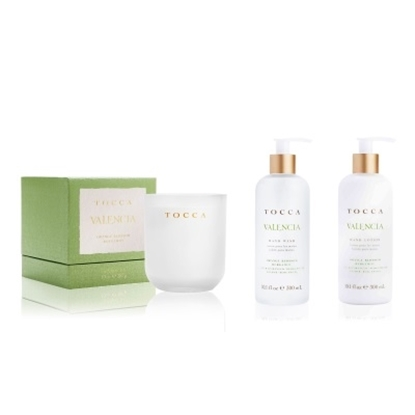 Picture of TOCCA Lotion, Soap and Candle Set - Valencia