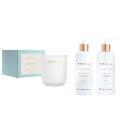 Picture of TOCCA Lotion, Soap and Candle Set - Montauk