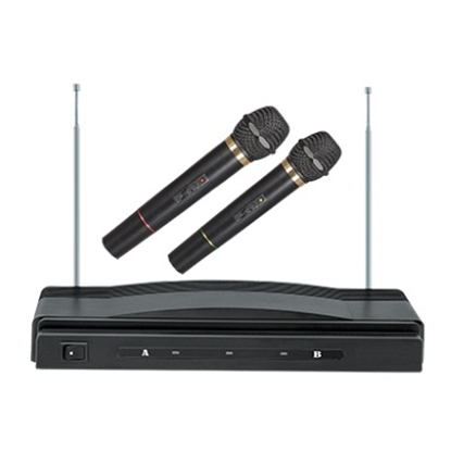 Picture of Supersonic Dual Wireless Microphone System