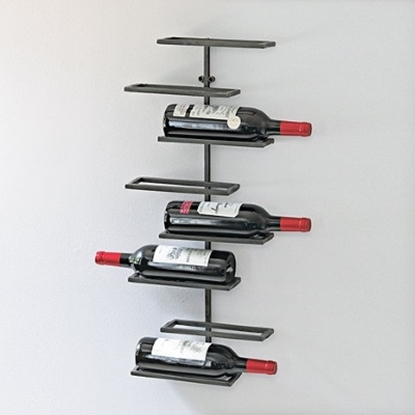 Picture of Wine Enthusiast 8-Bottle Urban Wall Wine Rack