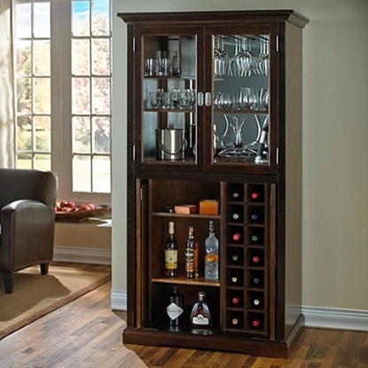Picture of Wine Enthusiast Firenze Wine and Sprits Armoire Bar