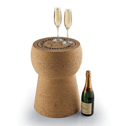 Picture of Wine Enthusiast Giant Champagne Cork Stool and Table