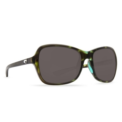 Picture of Costa Kare Sunglasses - Shiny Kiwi Tortoise/Gray