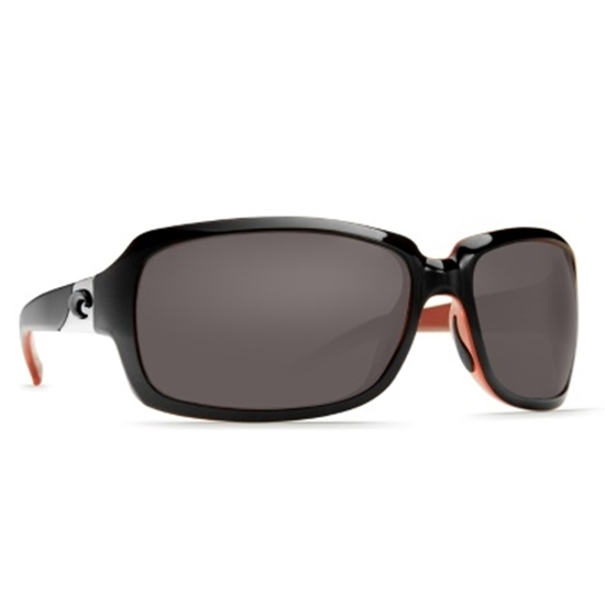 Picture of Costa Isabela Sunglasses - Black & Coral/Gray
