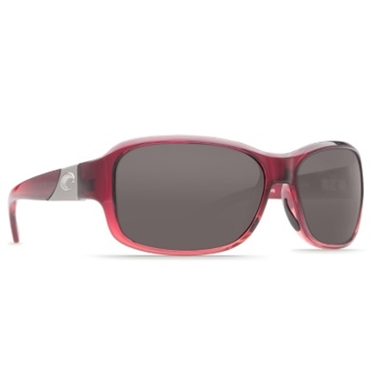 Picture of Costa Inlet Sunglasses - Pomegranate Fade/Gray