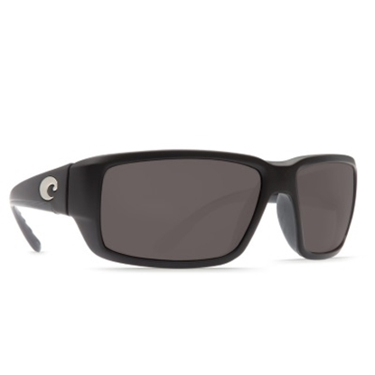 Picture of Costa Fantail Sunglasses - Matte Black/Gray