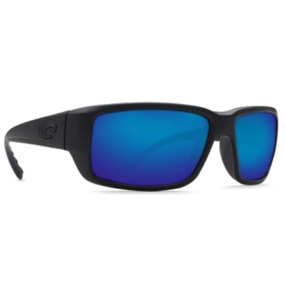 Picture of Costa Fantail Sunglasses - Blackout/Blue Mirror