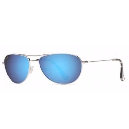 Picture of Maui Jim® Baby Beach Sunglasses - Silver/Blue
