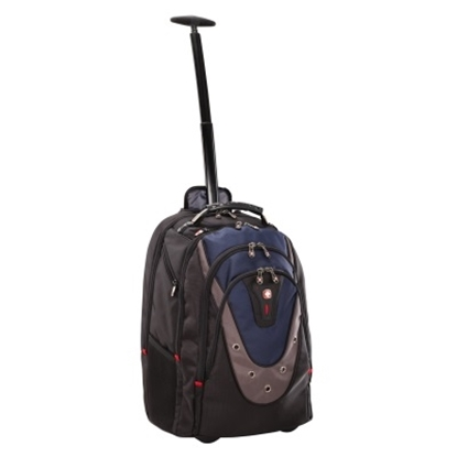 Picture of Wenger Ibex Wheeled 16'' Laptop Backpack with Tablet Pocket