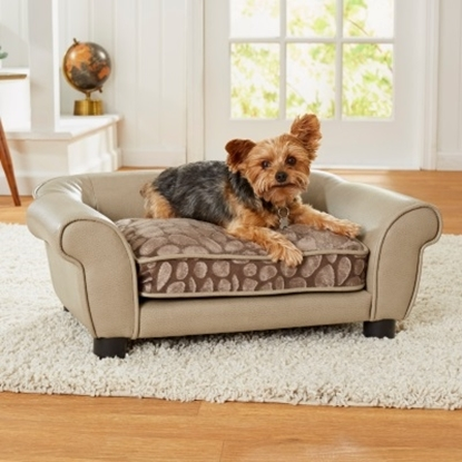 Picture of Enchanted Home Pet Rocco Sofa - Stone Pewter