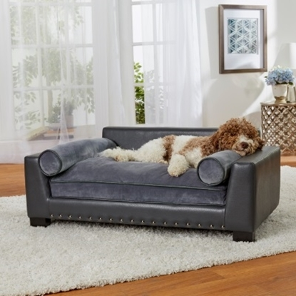 Picture of Enchanted Home Pet Skylar Sofa - Dark Grey