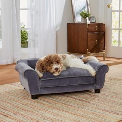 Picture of Enchanted Home Pet Dreamcatcher Sofa - Dark Grey