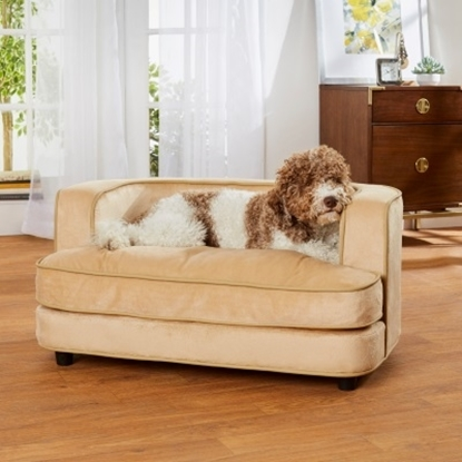 Picture of Enchanted Home Pet Cliff Sofa - Caramel