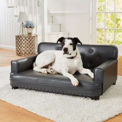 Picture of Enchanted Home Pet Library Sofa - Pebble Grey
