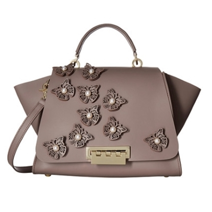 Picture of Zac Posen Eartha Iconic Soft Top Handle - Stone/Butterfly