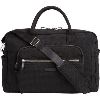 Picture of Vera Bradley Iconic Weekender Travel Bag - Black