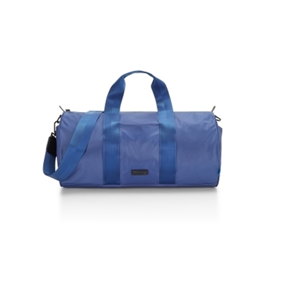 Picture of Uri Minkoff Nylon Gary Duffle Bag - Denim
