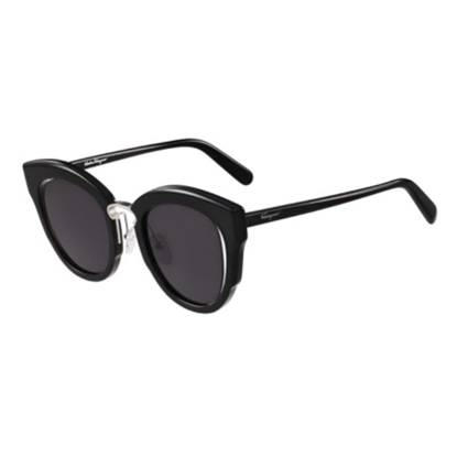Picture of Salvatore Ferragamo Cat Eye Sunglasses - Black