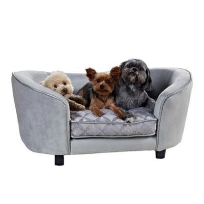 Picture of Enchanted Home Pet Quicksilver Sofa - Silver