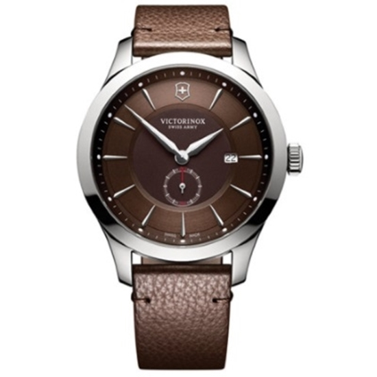 Picture of Victorinox Alliance Watch w/ Brown Dial & Brown Leather Strap