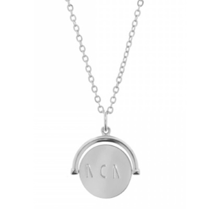 Picture of Lulu DK Mom Necklace - Rhodium-Plated Brass
