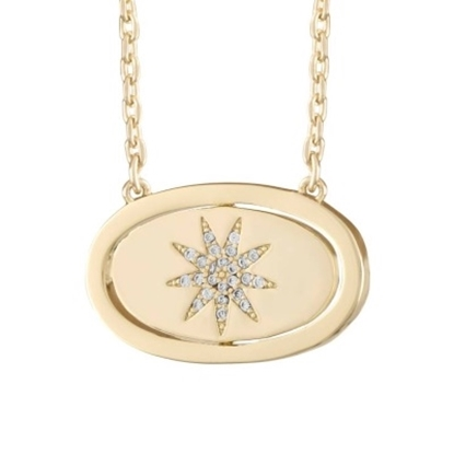 Picture of Lulu DK You Are My Sunshine Necklace - 14K Gold-Plated