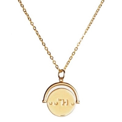 Picture of Lulu DK Sisters Necklace - 14K Gold-Plated Brass