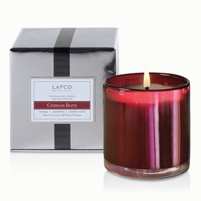 Picture of Lafco Signature Holiday Candle - Crimson Berry