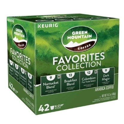 Picture of Keurig® Green Mountain Favorites K-Cups® - 42-Count