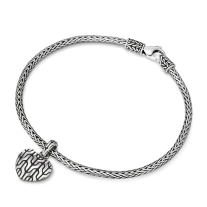 Picture of John Hardy Classic Chain Heart Charm Mini Chain Bracelet