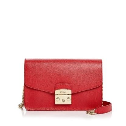 Picture of Furla Metropolis Small Shoulder Bag - Ruby