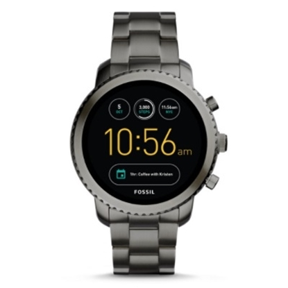 Picture of Fossil Q Explorist Gen 3 Smoke-Tone Stainless Steel Smartwatch