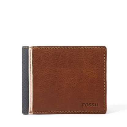 Picture of Fossil Elgin Traveller Wallet - Brown