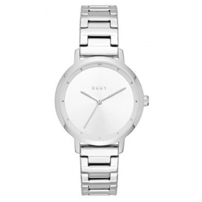 Picture of DKNY Modernist Stainless Steel Three-Hand Watch