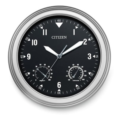 Picture of Citizen Outdoor Water-Resistant Clock with Black Dial