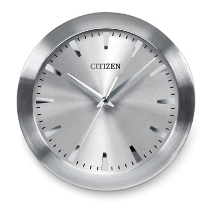 Picture of Citizen Gallery Wall Clock - Silver with Gray Dial