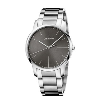 Picture of Calvin Klein Men's City Stainless Steel Watch with Grey Dial