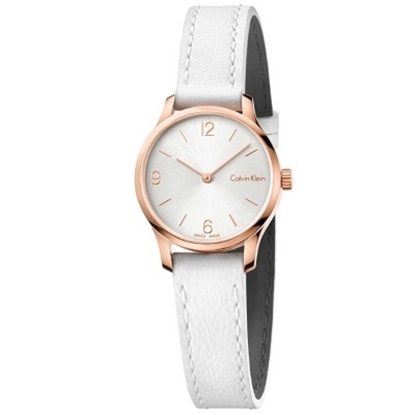 Picture of Calvin Klein Ladies' Endless Watch with White Leather Strap